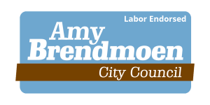 logo with labor endorsed